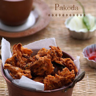 Cabbage Pakoda Recipe - How to make South Indian Cabbage Pakora - Cabbage Fritters