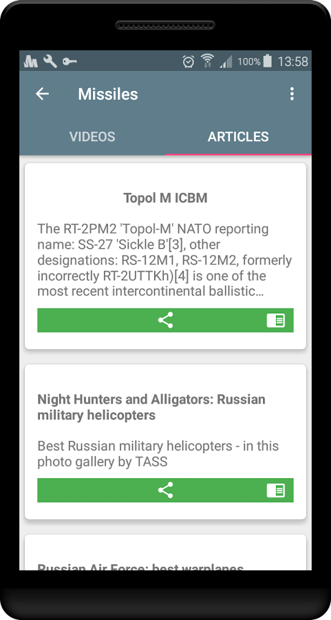 Russian weapons of WW III- screenshot