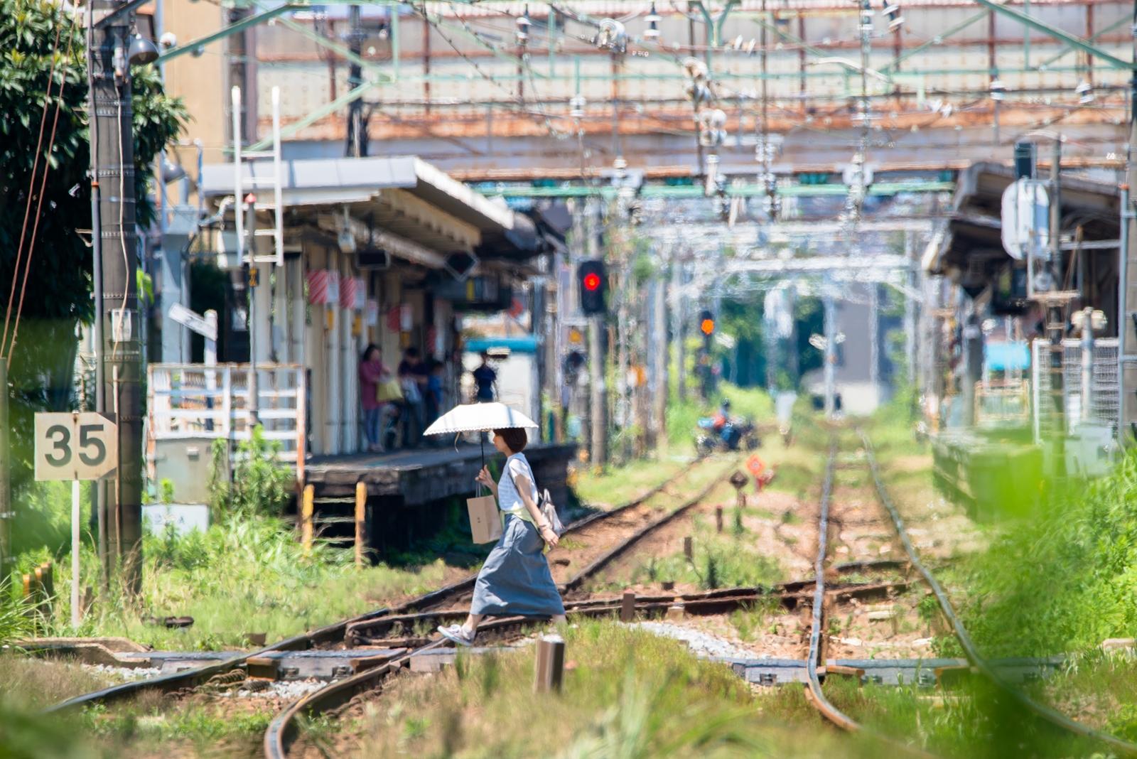 Photo: 夏の宿河原駅  私の住む街の駅です。  #cooljapan #station #summer #nikon #sigma  Nikon D800E SIGMA 150-600mm F5-6.3 DG OS HSM Contemporary
