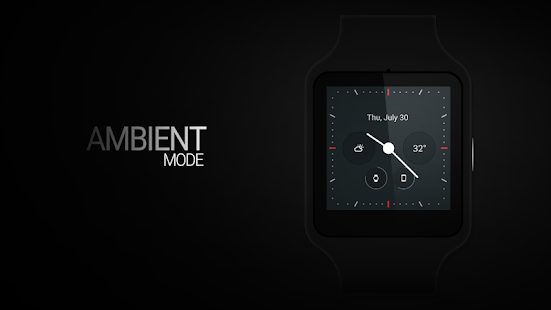 Material Analog Watch Face- screenshot thumbnail