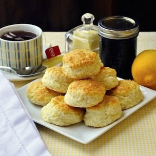 Sour Cream Lemon Scones Recipe