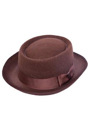 Hatt brun