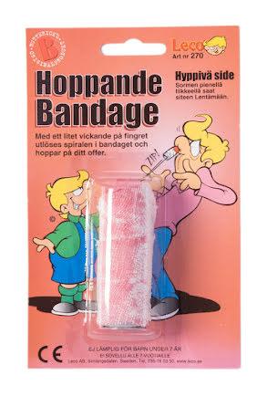 Hoppande bandage