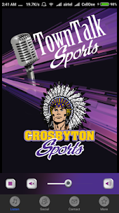 Crosbyton Sports Radio- screenshot thumbnail
