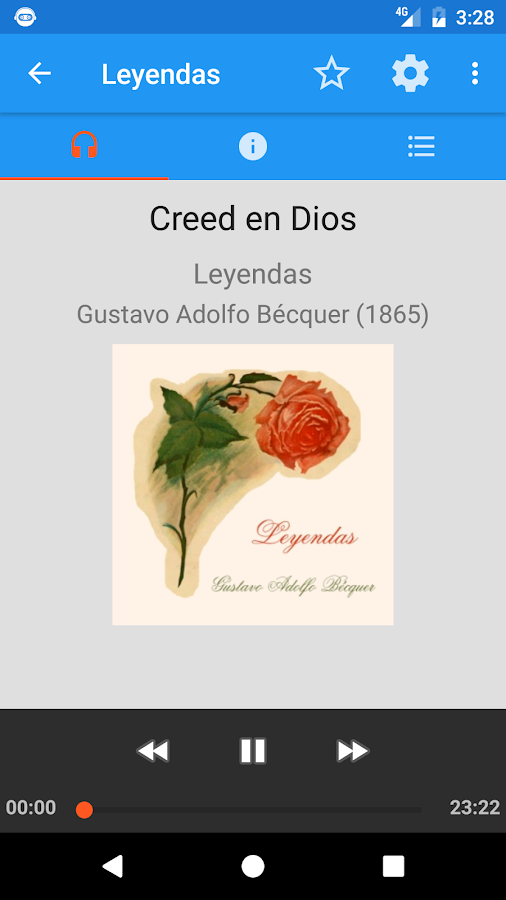 AudioBooks: Spanish classics- screenshot