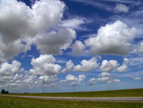 Photo: A bus ride, a flight, a day and a ferry later, we are driving along coastal Uruguay
