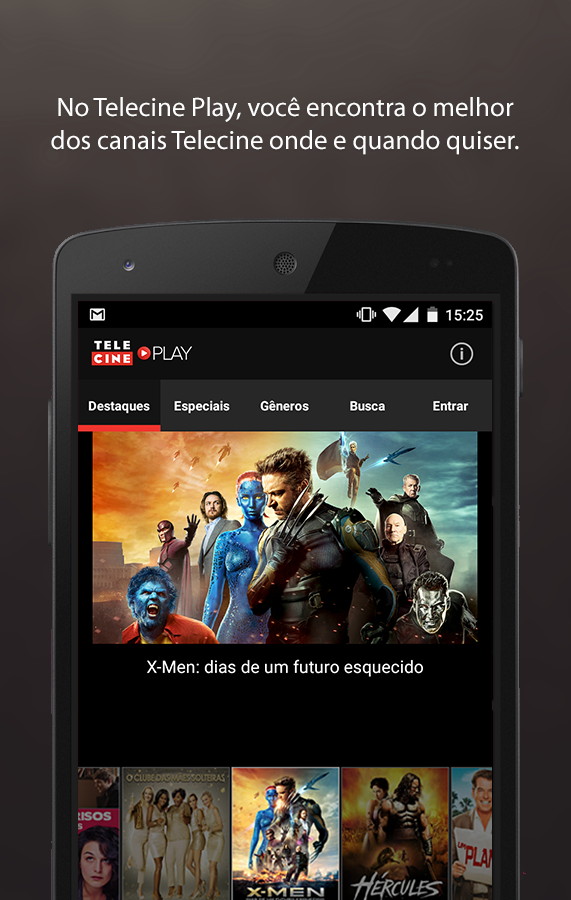 Telecine Play - Filmes Online - screenshot