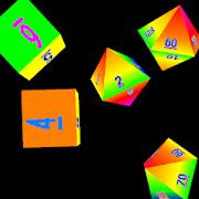 Dice Roller 3D: Rainbow Dice