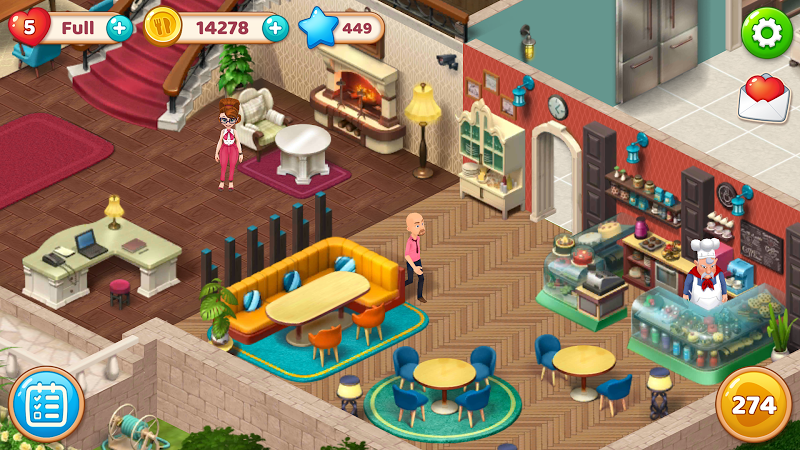 Manor Cafe Screenshot 5