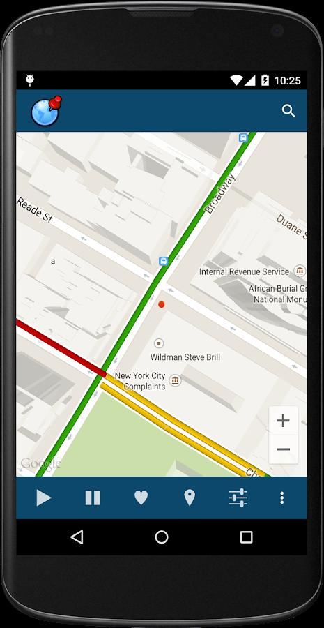 Fake gps - fake location- screenshot