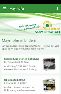 Holz Mayrhofer GmbH- screenshot thumbnail