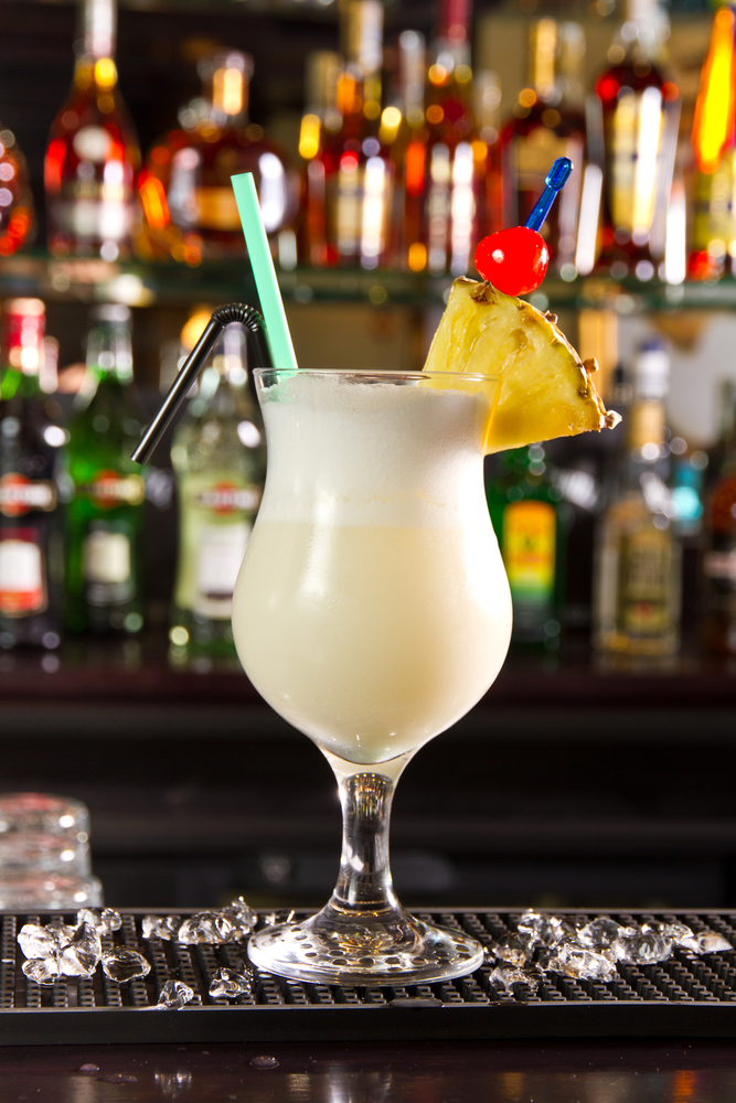 Piña Colada - pineapple juice, rum and coconut cream