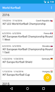 World Korfball- screenshot thumbnail
