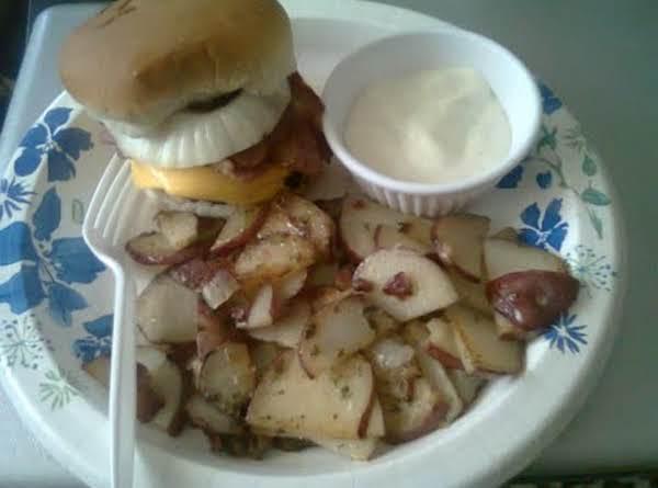 Garlic Sauteed Potatoes