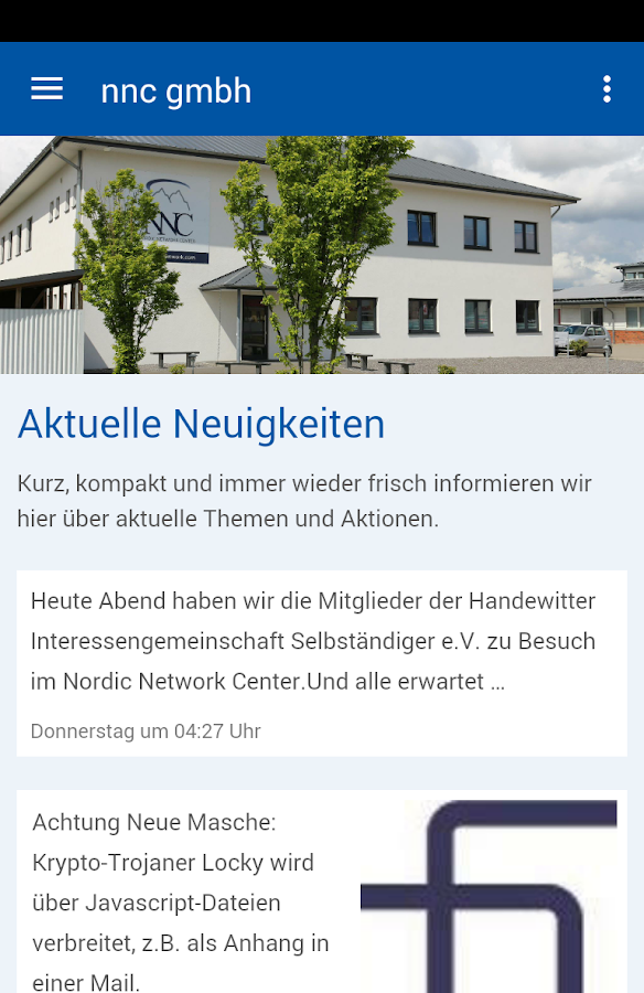 nnc gmbh – Screenshot