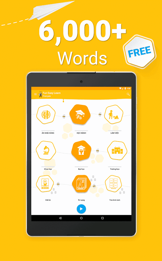 Learn French Vocabulary - 6,000 Words- screenshot