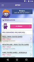 Screenshot of iDTGV