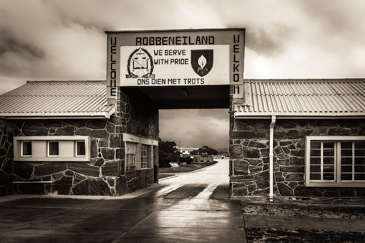 Robben Island, where former president Nelson Mandela spent 18 years in jail. Stock photo.