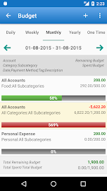 Expense Manager Screenshot 3