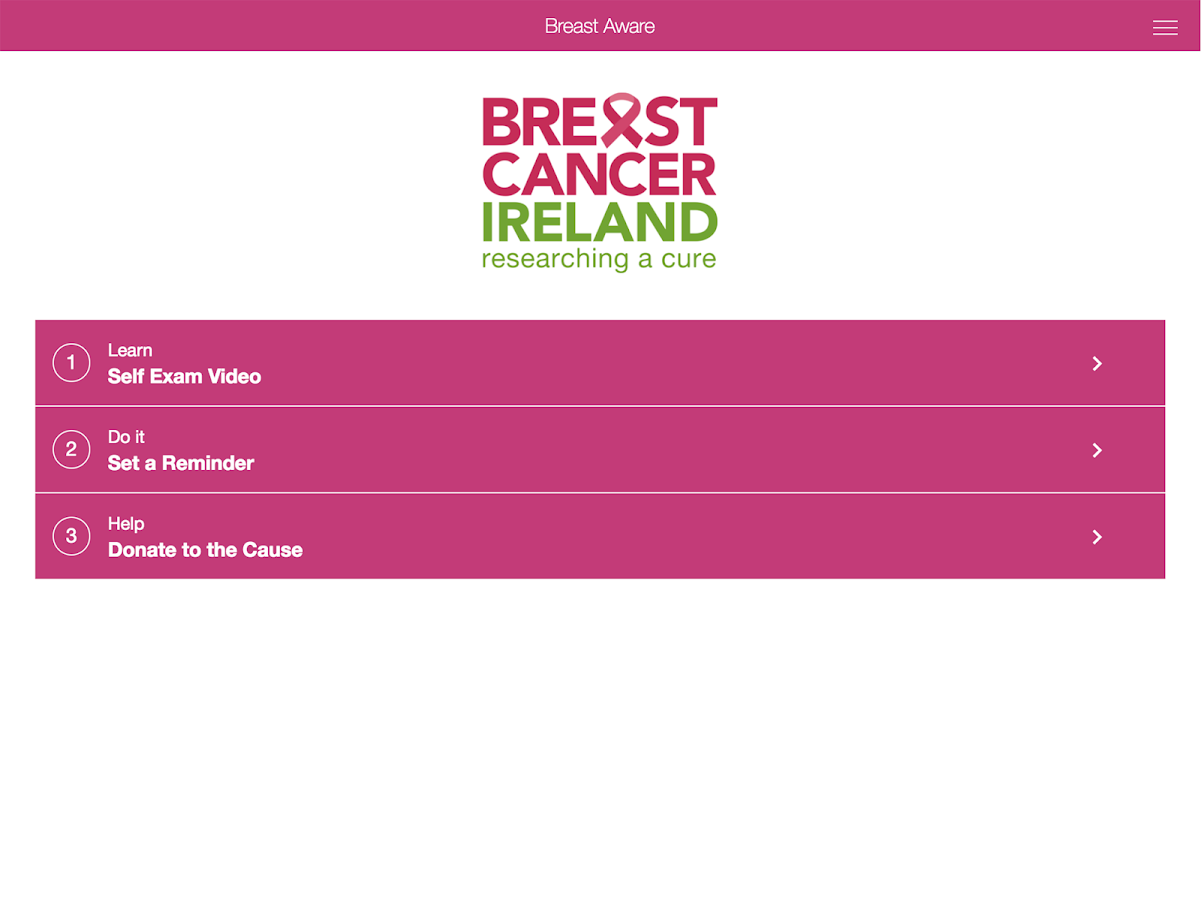 Breast Aware- screenshot