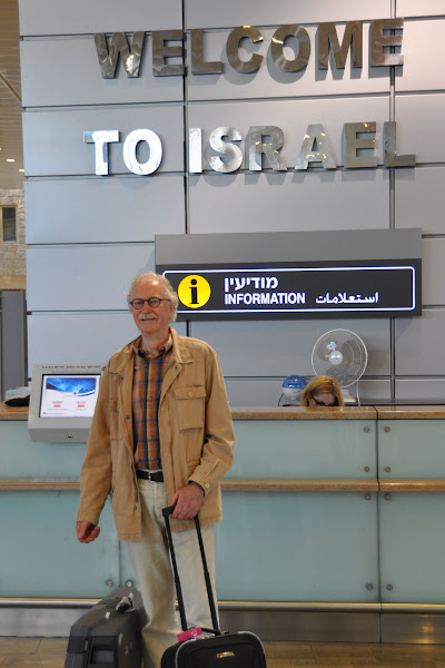 Photo: Friday May 6th, arrival at David Ben Goerion Airport (Tel Aviv).