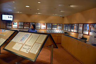 Photo: the information center on deck 8