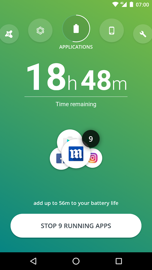 Avast Battery Saver- screenshot
