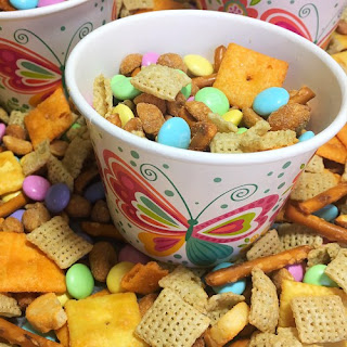Sweet & Salty Spring Chex Mix Recipe