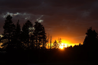 Photo: Sunset in the Gravelys