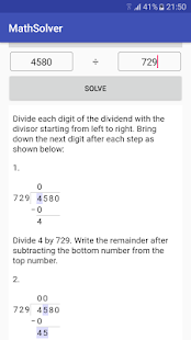 MathSolver: Math calculator with solution & steps- screenshot thumbnail