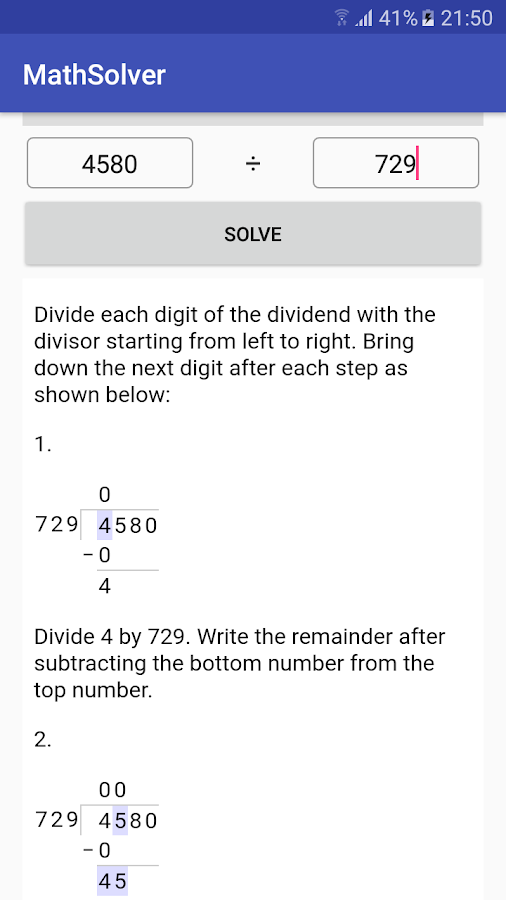 MathSolver: Math calculator with solution & steps- screenshot