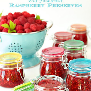 Old Fashioned Raspberry Preserves Recipe