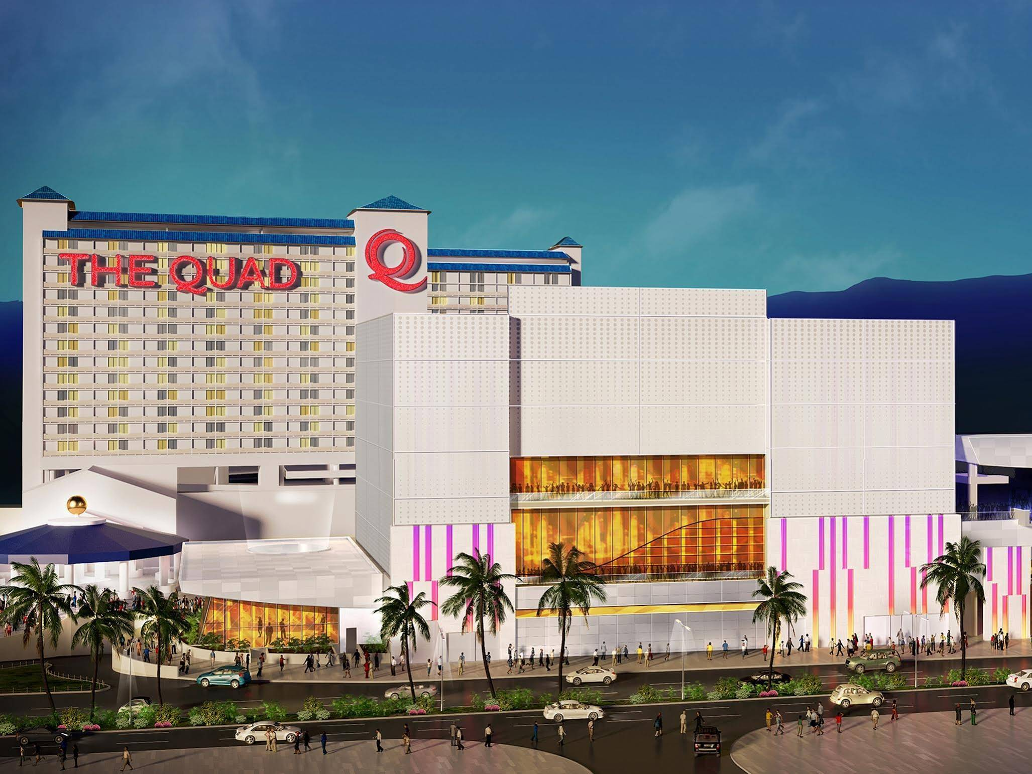 The Quad Resort & Casino, Located next to Flamingo