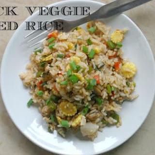 Skinny Veggie Fried Rice