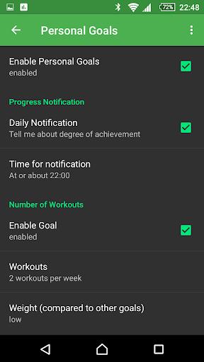 myWorkouts Heart Rate Monitor Sport GPS Tracker  screenshots 7