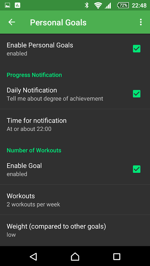 myWorkouts Heart Rate Monitor- screenshot