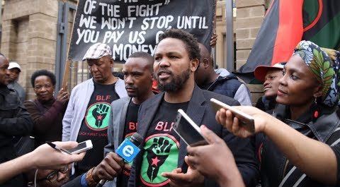 Black First Land First leader Andile Mngxitama. File Photo