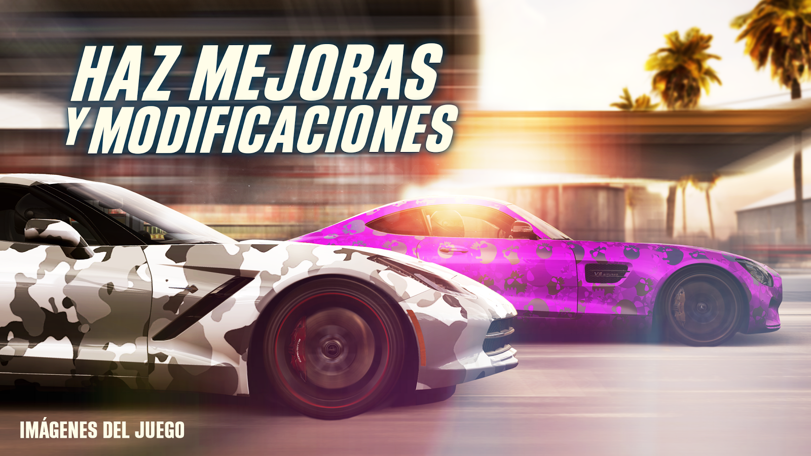 CSR Racing 2: captura de pantalla
