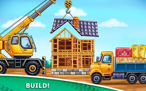 Truck games for kids - build a house, car wash 1.0.16 screenshots 4