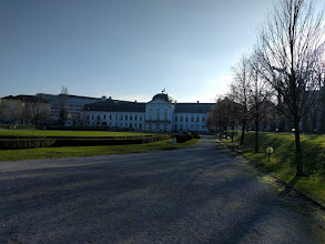 Photo: Grassalkovich Palace from the back.