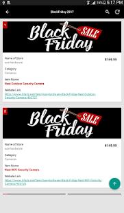 BlackFriday Sales 2017 - náhled
