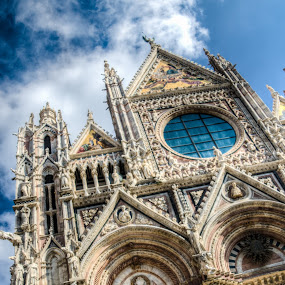 Siena Cathedral by Steve Densley - Buildings & Architecture Places of Worship ( siena cathedral, cathedral, architecture, italy, siena )