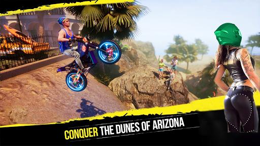 Crazy Biker Extreme Challenge Sky Stunt 3D painmod.com screenshots 1