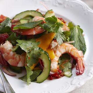 Thai Mango and Shrimp Salad.