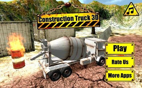 Construction-Truck-3D 4