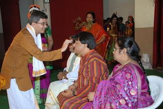 Photo: Felicitation to Sri Bhagavathula Sethuram