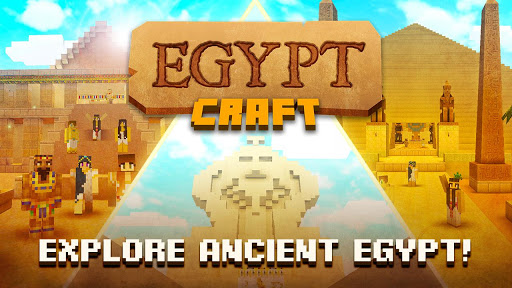 Egypt Craft: Pyramid Building & Exploration Games for PC