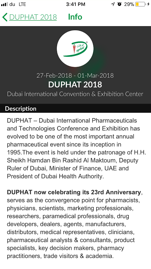 DUPHAT 2018- screenshot