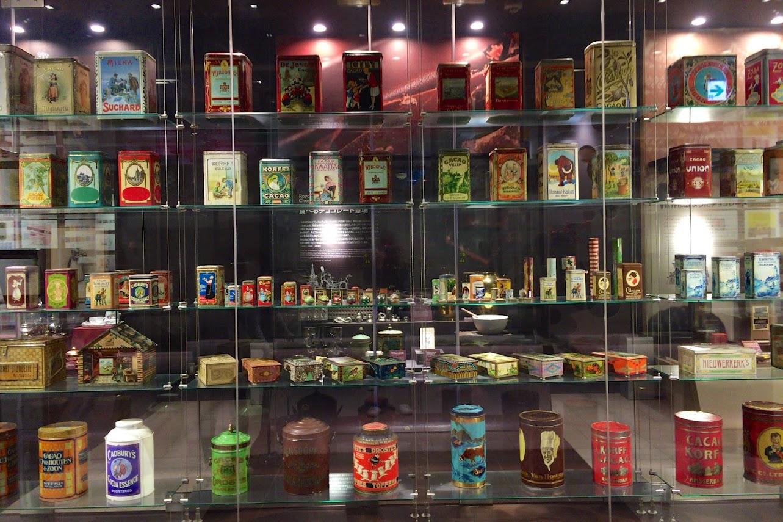 ココア缶コレクション