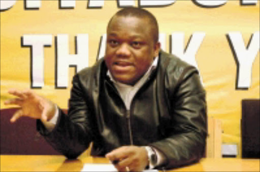 CONCERNED: Sihle Zikalala. ANC provincial secretary. © Unknown